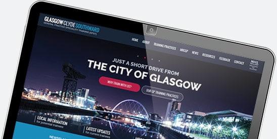 Website design for Glasgow GP Training