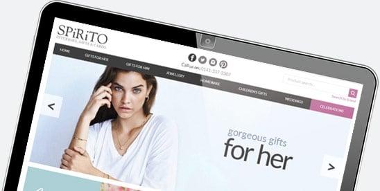 Website design for Spirito